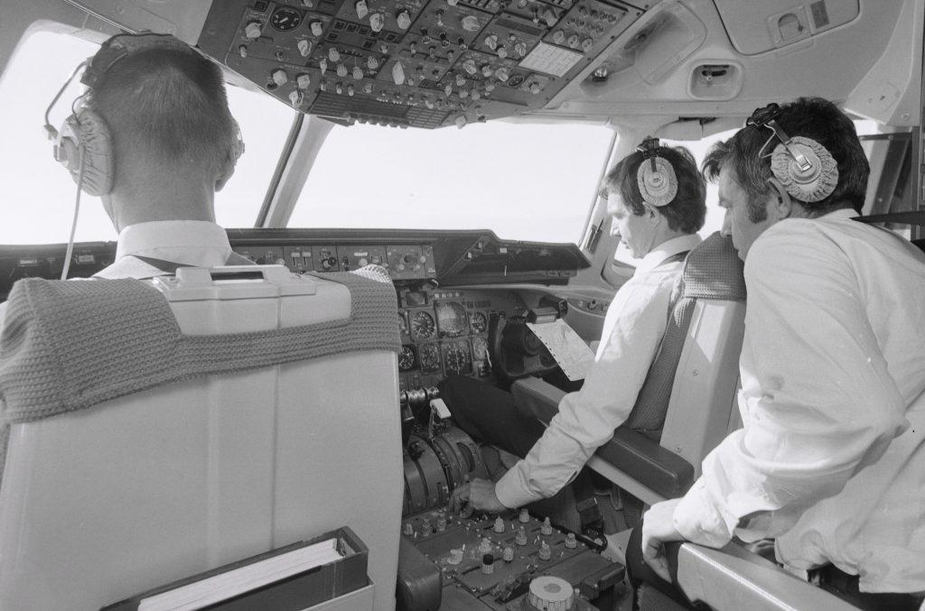 DC-10 Swissair (1978) - copyright ETH Bibliothek Zürich